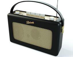 3D Roberts Vintage Radio