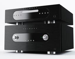 Stereo Tuner Cd Player 3D Model