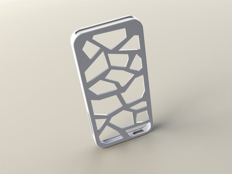 photograph regarding Printable Phone Case named apple iphone 5 situation Designer 3D Print Design and style