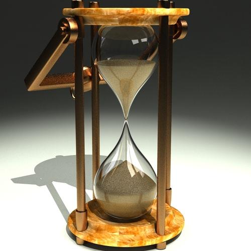 Hourglass 3D Model MAX - CGTrader.com