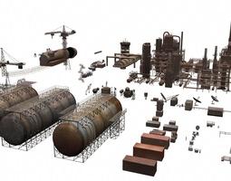 3D model industrial structures