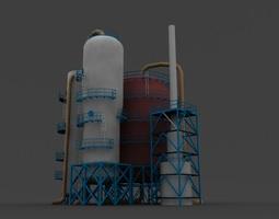 3d refinery unit
