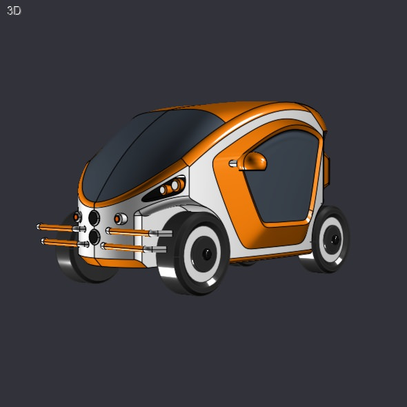 Electric toycar concept