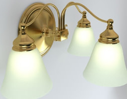 Wall Light Fixture 3d Model
