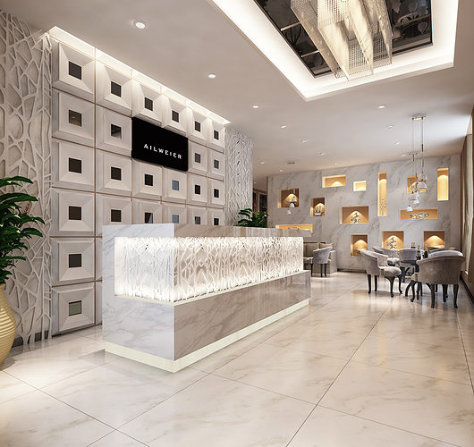 3d models clothing showroom interior 3d model max 2