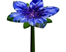 3D printable model Flower Fabrication