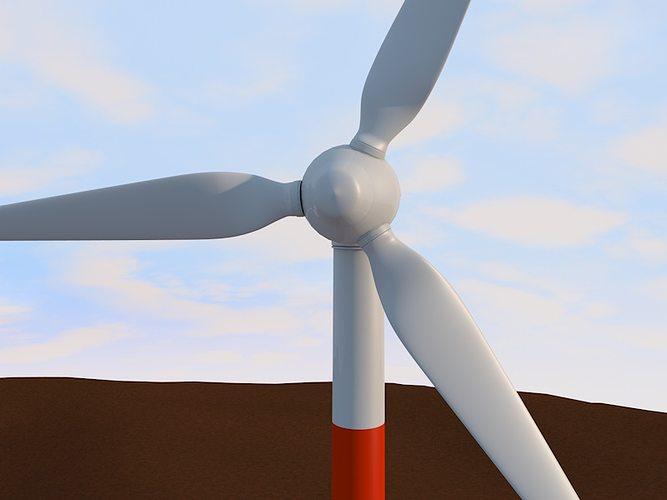 Wind Turbine 3d 3ds $ Lapakonlineindonesia id