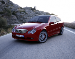 Mercedes C-Class Coupe 3D Model