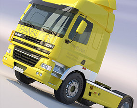 3D model DAF CF85 SpaceCab