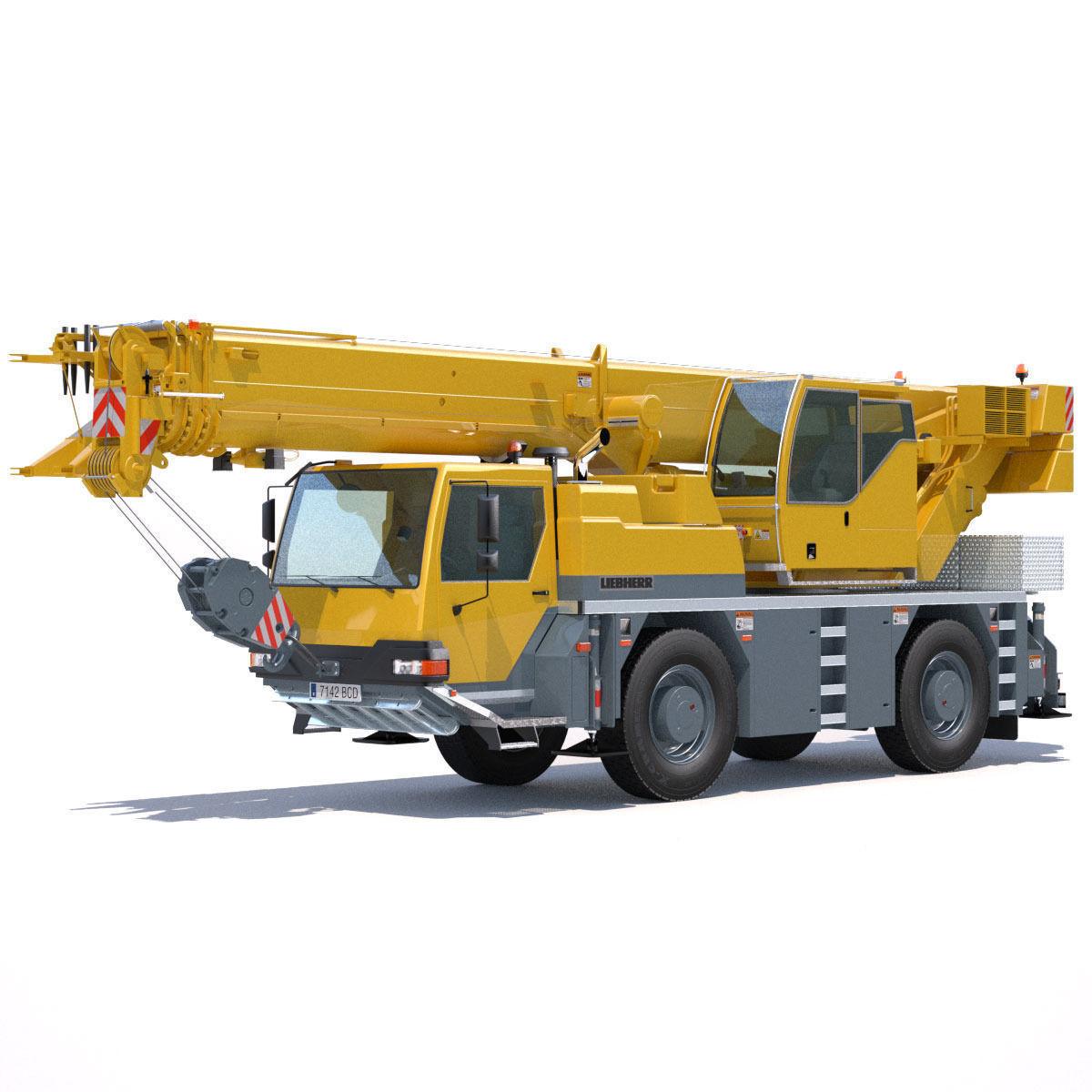 Mobile Crane Liebherr LTM 1040 2 1