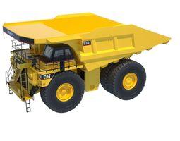 Mining Rigid DumpTruck 793D 3D Model
