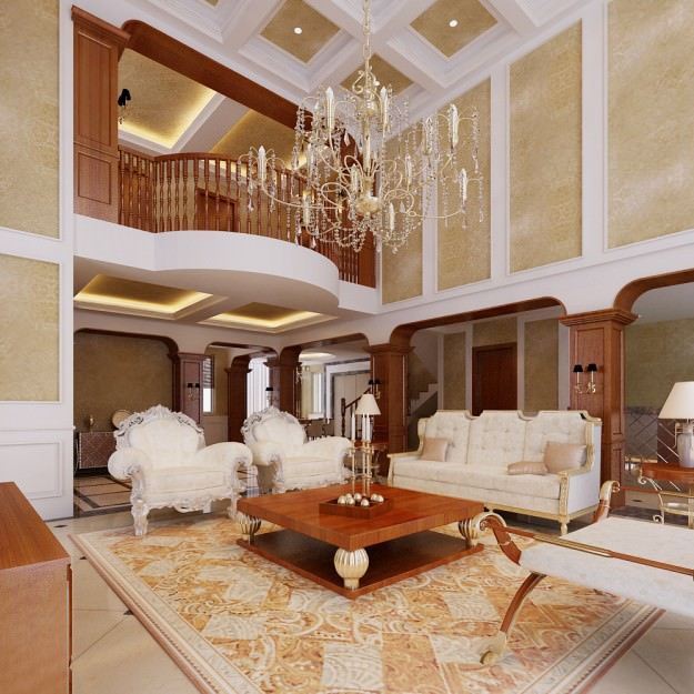 ... 3d Model Photoreal Luxury House Interior 3d Model Max 3 ...
