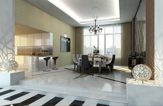 3d house interior.  photoreal luxury house interior 3d model max 9 Photoreal Luxury House Interior 3D CGTrader