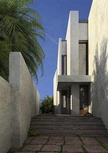 photorealistic commercial building collection 3d model c4d 1