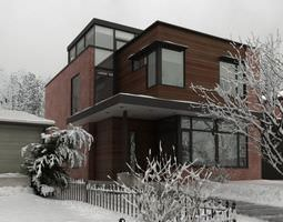 Photorealistic House Collection 3D architectural
