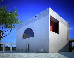 3D architecture Photorealistic House Collection