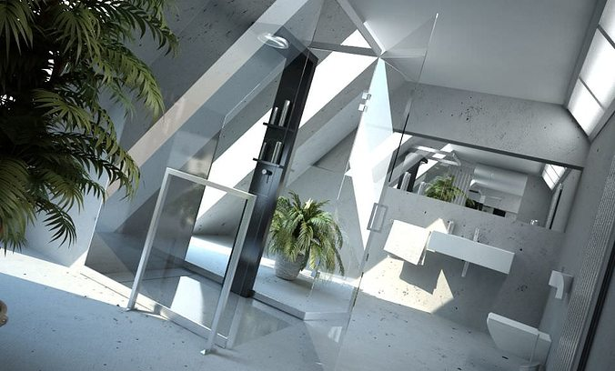 3D Photorealistic House Interior CGTrader