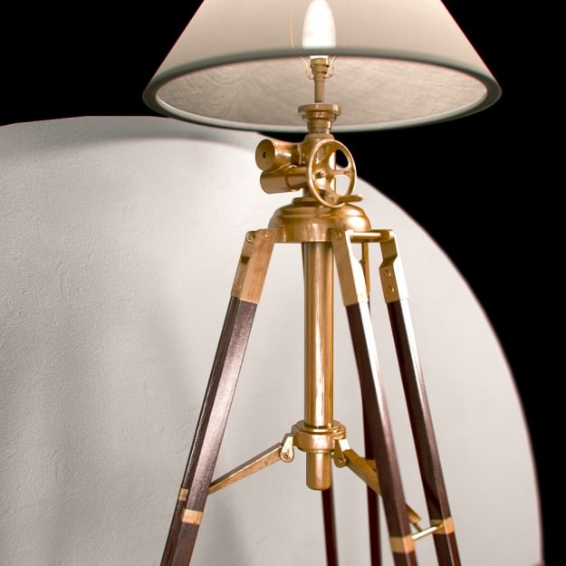 wood a alfred floor tripod made in com lamp l natural