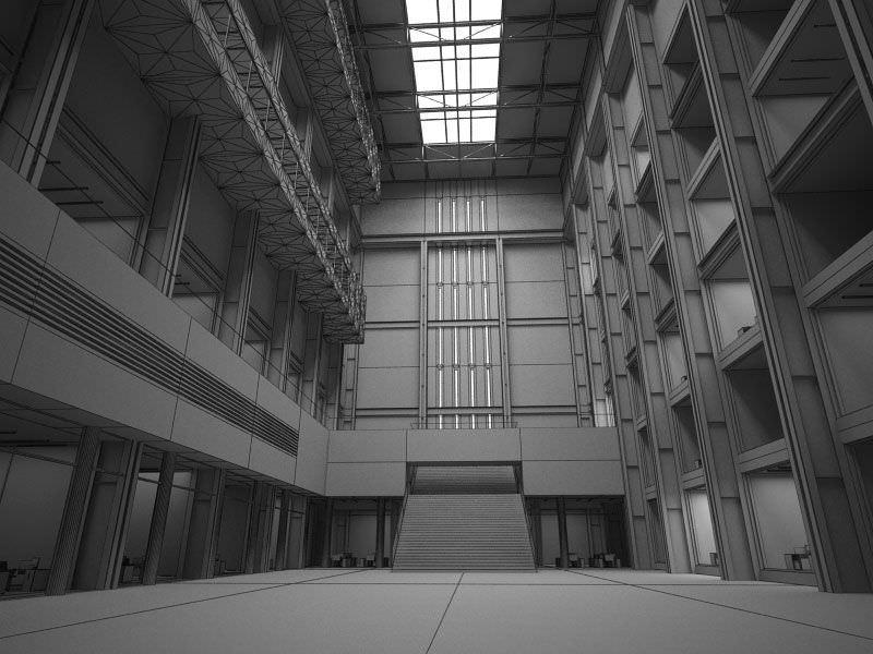 Interior Lobby Hall