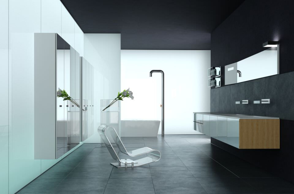 Bathroom 3d Model 3d modern bathroom | cgtrader
