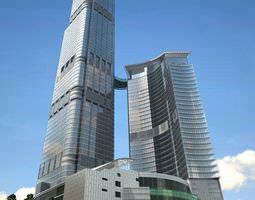 Office Skyscraper Building Exterior 3D model