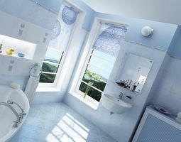 3D model Bathroom Equipment Collection