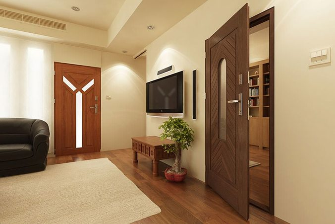 doors and windows collection 3d model max obj fbx c4d 1
