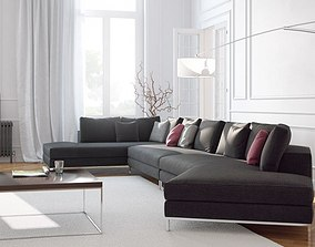 3D Realistic Sofas Collection