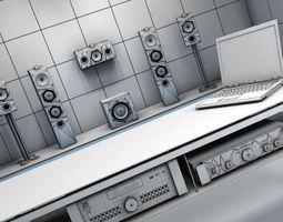 3D model Sound System Room