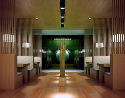 3D model Modern Restaurant Interior