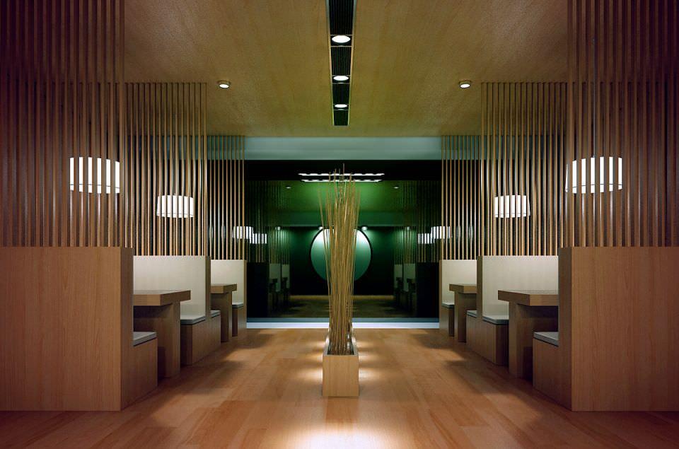 Modern restaurant interior d model max cgtrader