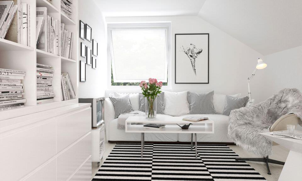 White Cozy Living Room white cozy living room | home design ideas