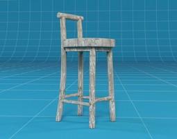3D model Barstool