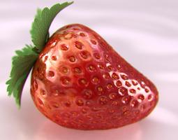 strawberry beauty 3d model max obj fbx