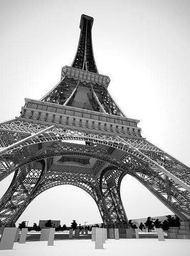 Eiffel tower 3d model cgtrader for Eiffel architect
