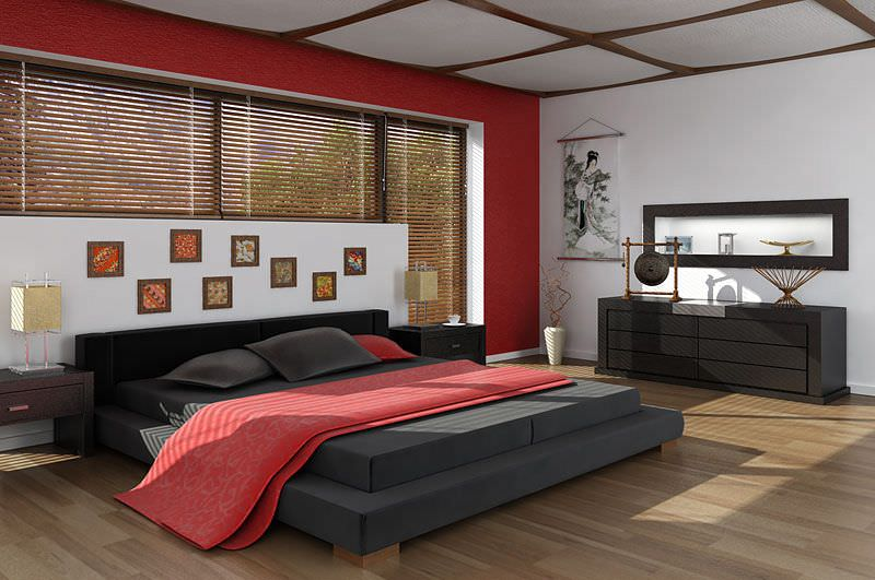 Asian Interior Design Bedroom Model Max 1