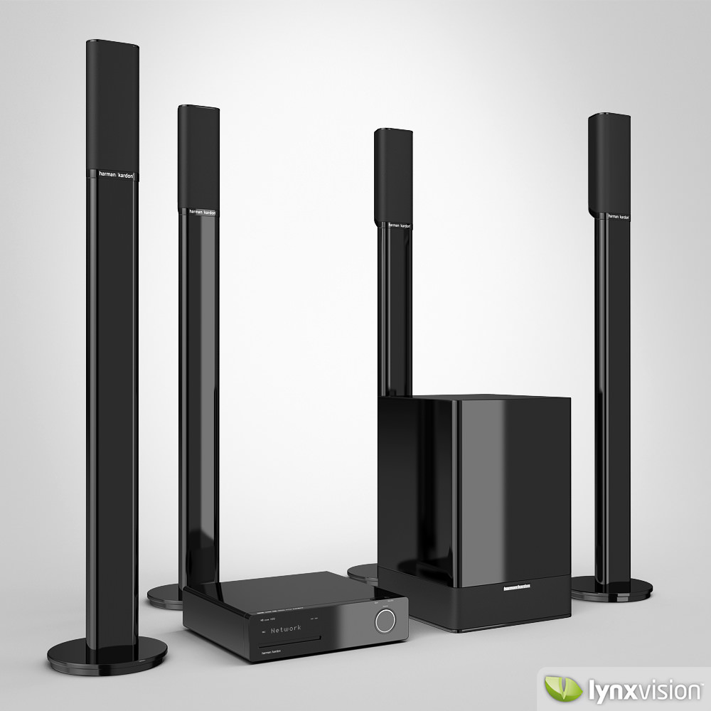 harman kardon home speakers. harman kardon home theater 3d model max obj 3ds fbx stl mtl 1 speakers a