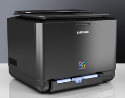 samsung color laser printer 3d