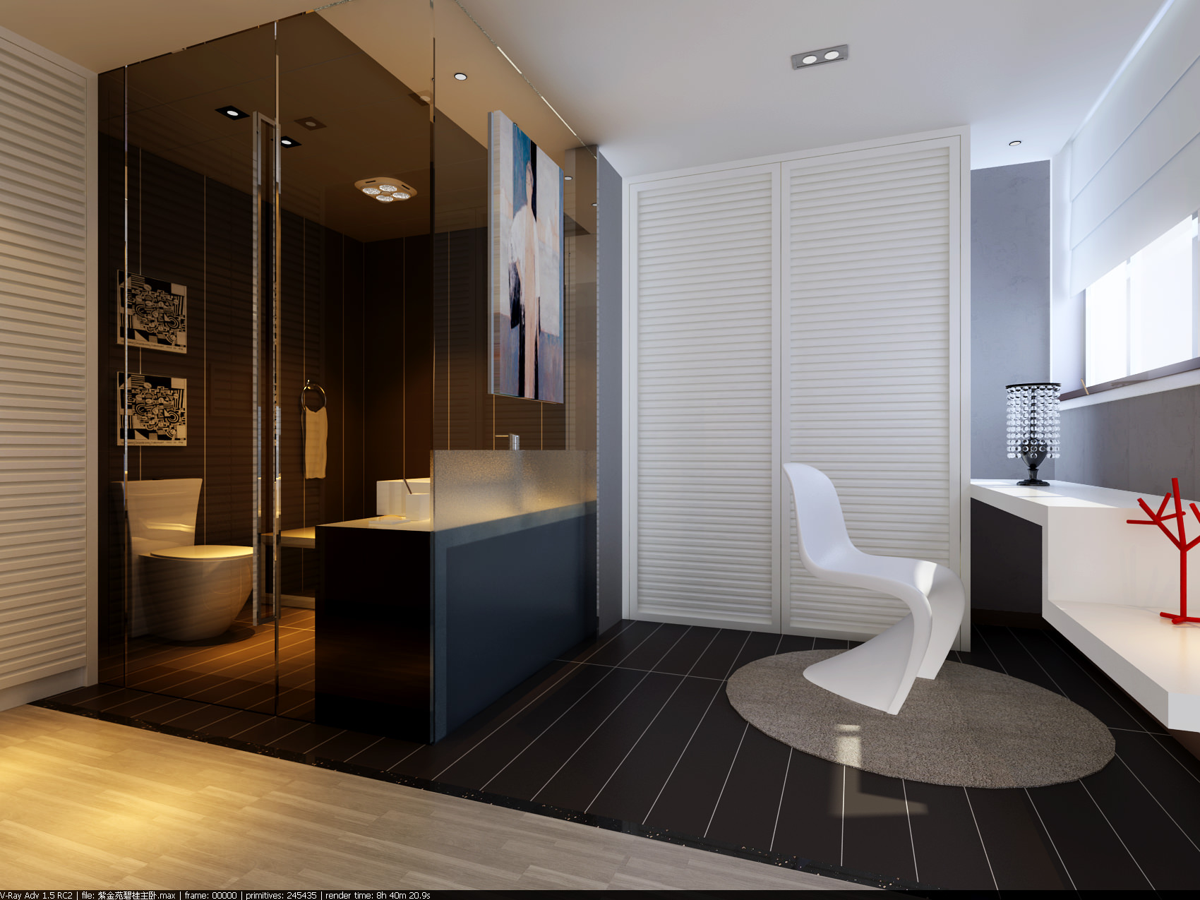 Bathroom 3D Model 3D Model Modern Bathroom  Cgtrader