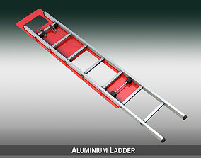 Alu ladder with vehicle mounting 3D