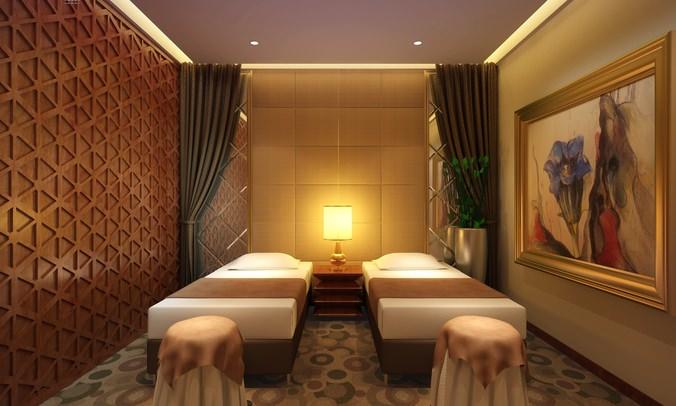 modern massage room 3d model cgtrader. Black Bedroom Furniture Sets. Home Design Ideas