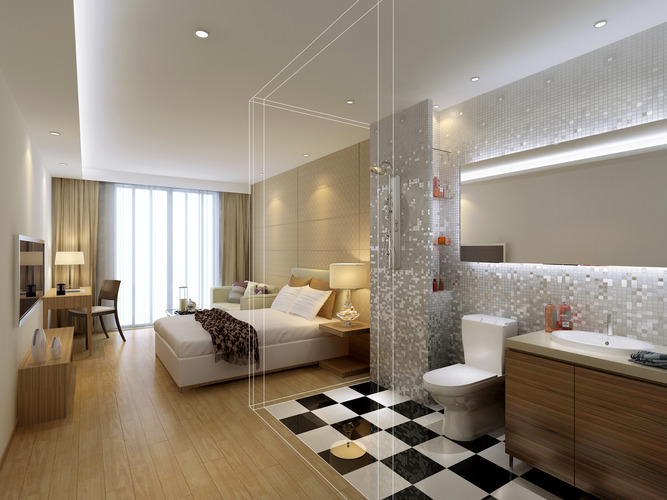 ... collection modern hotel room collection 3d model max dwg 11 ...