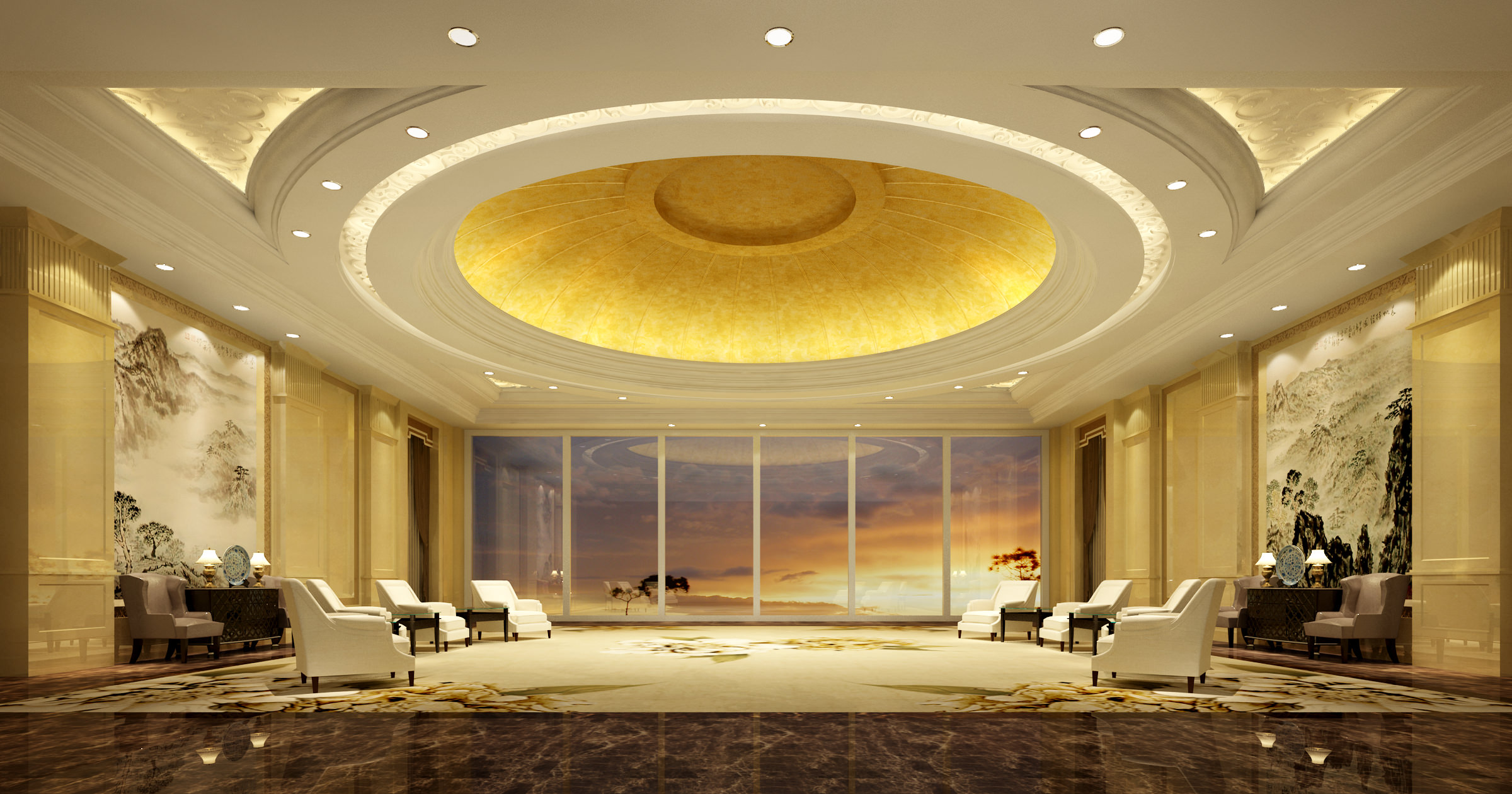 collection hotel interior collection 3d model max