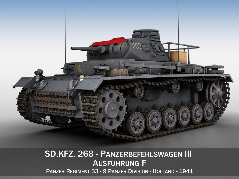 PzBefWg III - Ausf F - 9 PzDiv