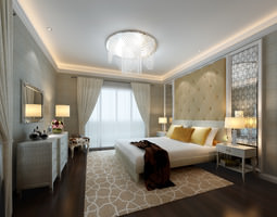 3d model collection living room and bedroom collection