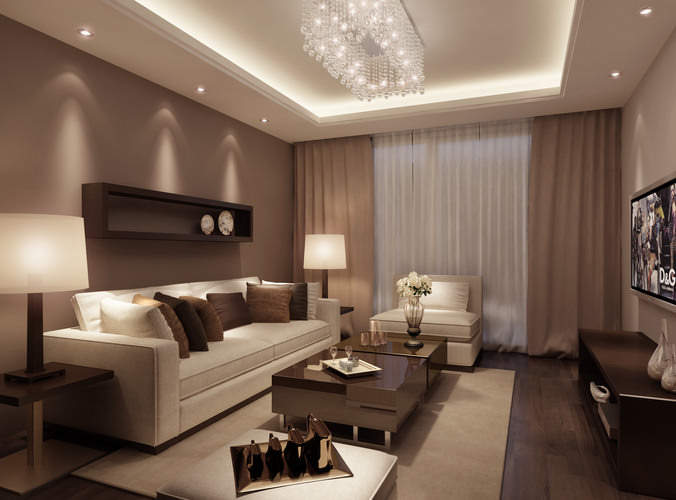 Model Living Room Impressive Collection Living Room And Bedroom Collection 3D Model Max Design Inspiration