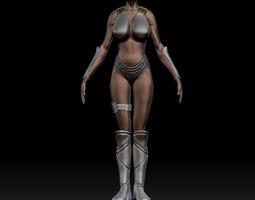 3D free zbrush woman