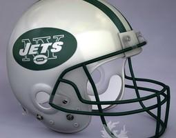 3D New York Jets official game helmet