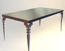 IPE Cavalli Table 3D model