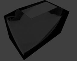 Glass fish tank 3D model